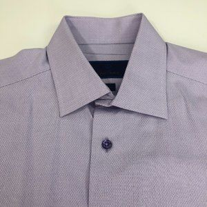 David Donahue 16 34/35 Mens Size Button Front Long